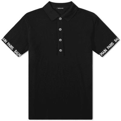 Balmain Taped Polo Shirt