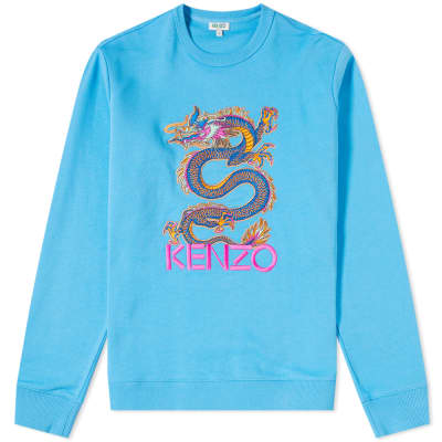 Kenzo Dragon Embroidered Crew Sweat