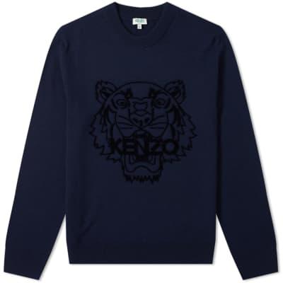 Kenzo Tiger Head Knit