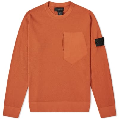 Stone Island Shadow Project Pure Cotton Crew Knit