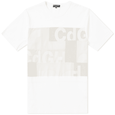 Comme des Garcons Homme CDG Mix Panel Tee
