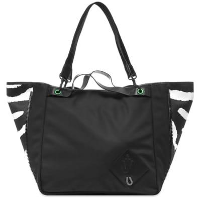 JW Anderson Nylon Zip Tote Bag