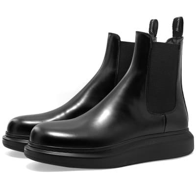Alexander McQueen Wedge Sole Hybrid Chelsea Boot