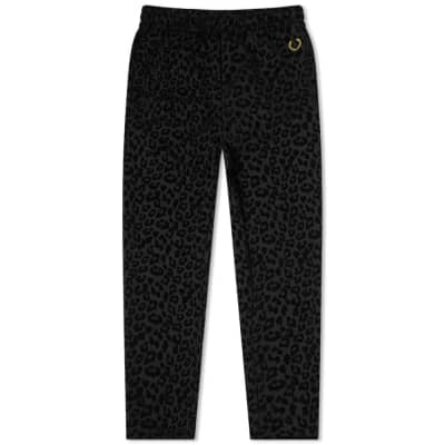 Fred Perry x Miles Kane Leopard Print Track Pant