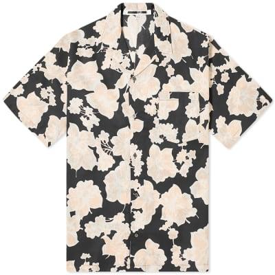 McQ Alexander McQueen Floral Kimono Shirt