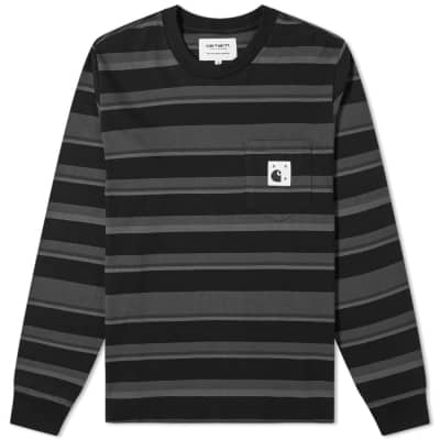 Pop Trading Company x Carhartt Long Sleeve Pocket Tee