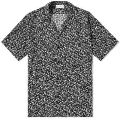 Saint Laurent Piranha Print Vacation Shirt