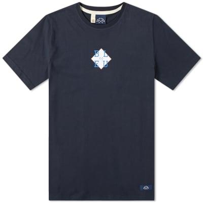 Bleu de Paname BLEU Block Print Tee