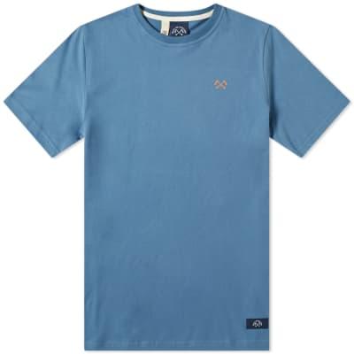 Bleu de Paname Chest Logo Tee