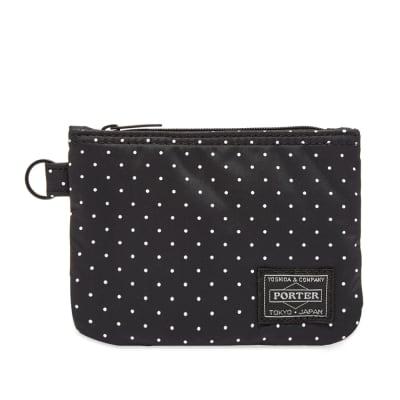 Head Porter Dot Zip Wallet