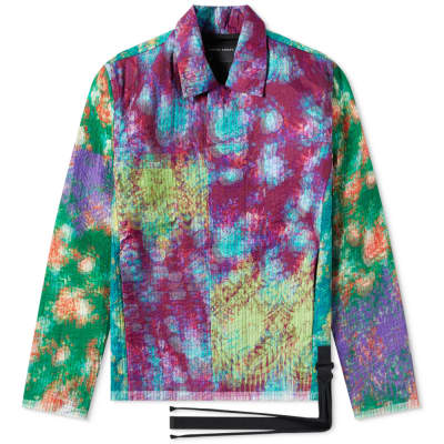 Craig Green Vibrating Floral Line Stitch Worker Jacket