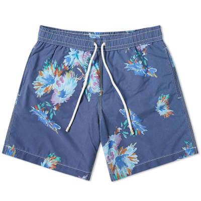 Hartford Flower Print Swim Short