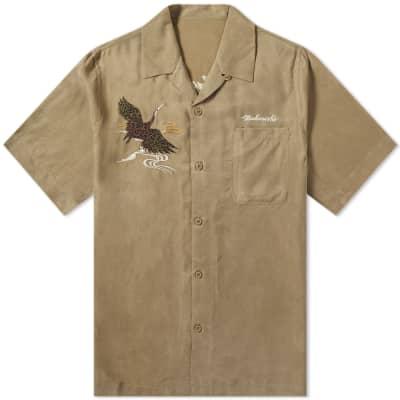 Maharishi Crane Silk Vacation Shirt
