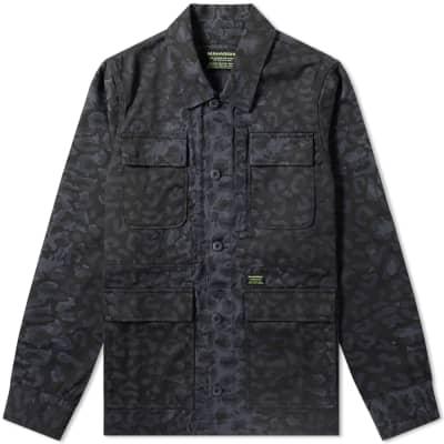 Maharishi Leopard Camo Chore Jacket