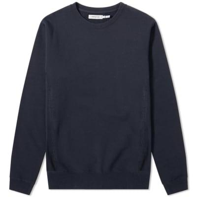 Nonnative Coach Over Dyed Crew Neck Sweatshirt