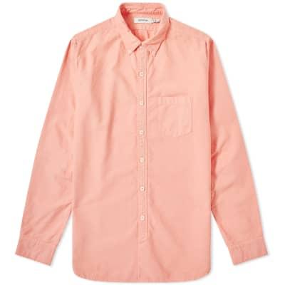 509131c571cb Nonnative Dweller Over Dyed Button Down Oxford Shirt