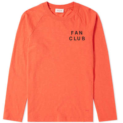 Wood Wood Long Sleeve Han Fan Club Tee