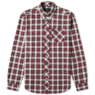 Fred Perry Authentic Button Down Tartan Shirt