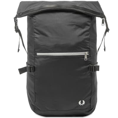 Fred Perry Authentic Roll Top Backpack