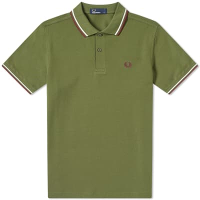 Fred Perry Authentic Twin Tipped Polo