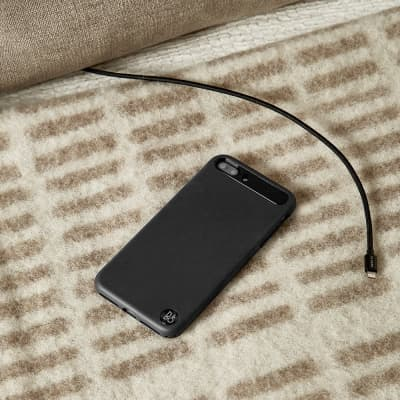 Le Cord Black Braided 2m Lightning Cable