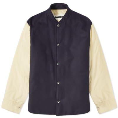Jil Sander+ Padded Varsity Overshirt