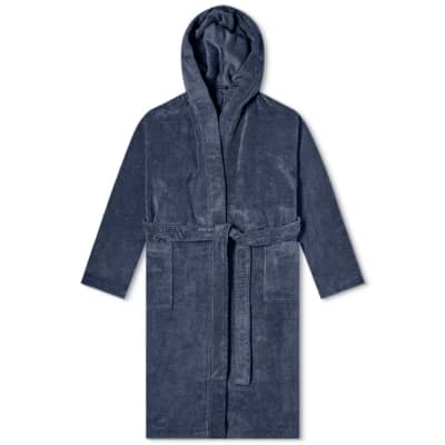 Schiesser Hooded Towelling Bath Robe