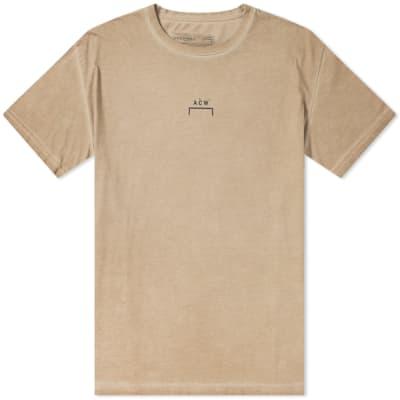 A-COLD-WALL* Bracket Logo Coated Tee