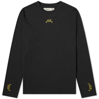 A-COLD-WALL* Long Sleeve Bracket Logo Tee