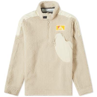 Off-White Moto Pullover Fleece
