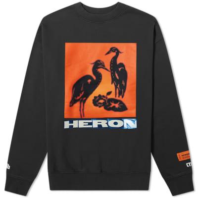 Heron Preston Heron Tape Crew Sweat
