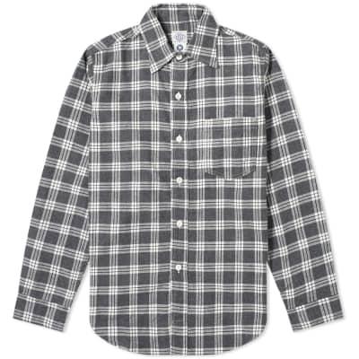 Post Overalls Post 5 Plaid Flannel Shirt