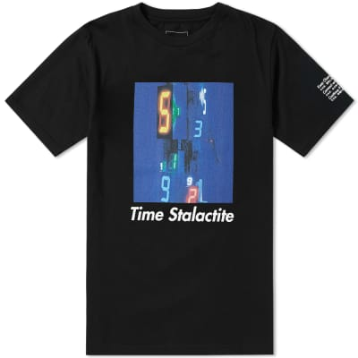 SOPHNET. x Tatsuo Miyajima Time Stalactite Tee