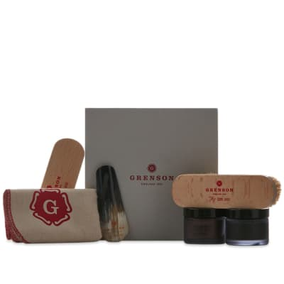 Grenson x William Green Wax Kit