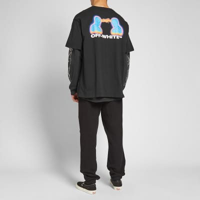 Off-White Thermo Print Oversized Tee