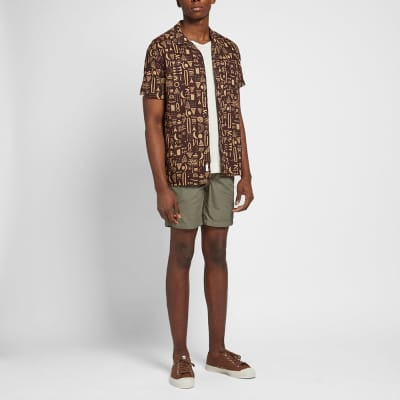 Onia Tribal Geo Vacation Shirt