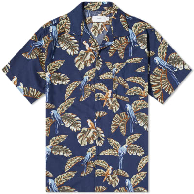 Onia Jungle Parrot Vacation Shirt