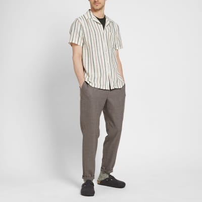 Onia Tribal Stripe Vacation Shirt