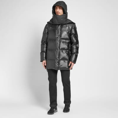 Rains Puffer Hooded Scarf