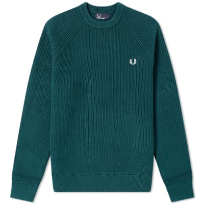 Fred Perry Ribbed Crew Knit