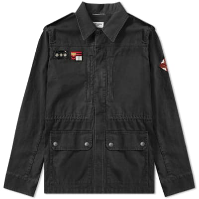 Saint Laurent Patch Military Jacket
