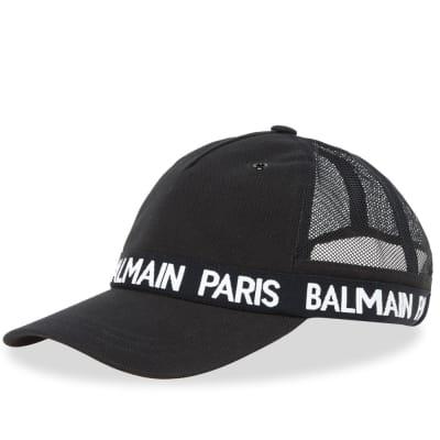 Balmain Branded Taping Cap