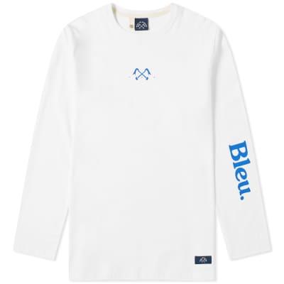 Bleu de Paname Long Sleeve Chest Logo Tee