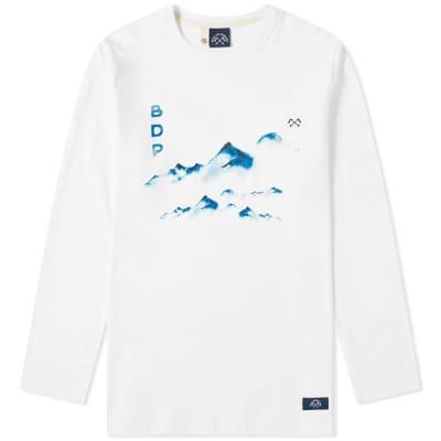 Bleu de Paname Long Sleeve Mountain Tee