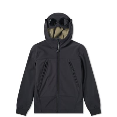 C.P. Company Undersixteen Hooded Goggle Soft Shell Jacket