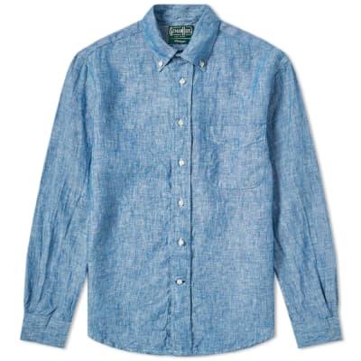 Gitman Vintage Chambray Linen Shirt