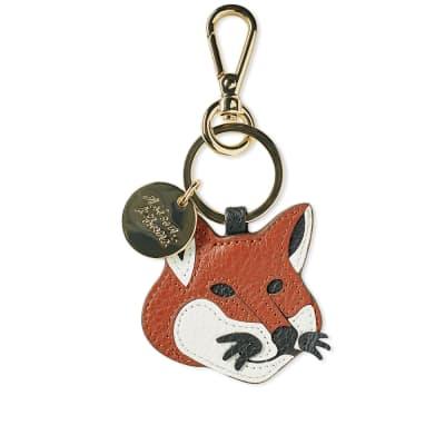 Maison Kitsuné Fox Head Keyring