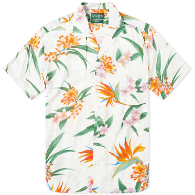 0258b14a Gitman Vintage Short Sleeve Camp Collar Aloha Shirt