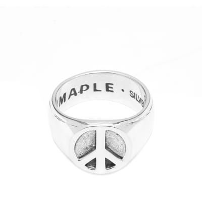 Maple Peace Ring