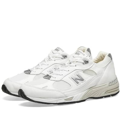 New Balance W991WHI - Made in England